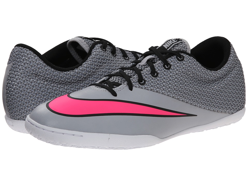 Nike - Mercurial Pro IC (Wolf Grey/Black/White/Hyper Pink) Men