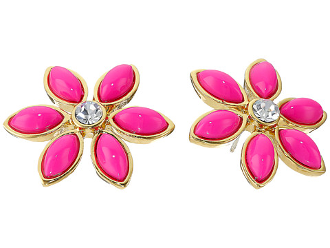 Kate Spade New York - Eyelet Garden Studs Earrings (Pink Multi) Earring