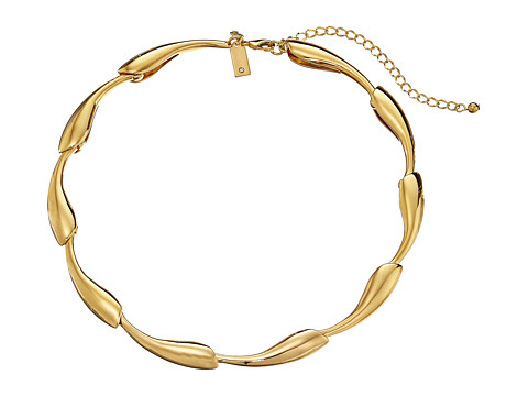 Kate Spade New York - Folded Petals Necklace (Gold) Necklace