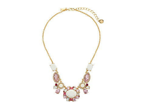 Kate Spade New York - Garden Bed Gems Small Necklace (Pink Multi) Necklace