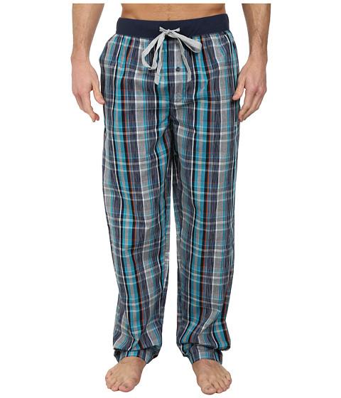Kenneth Cole Reaction - Woven Pants (Moroccan Plaid) Men's Pajama