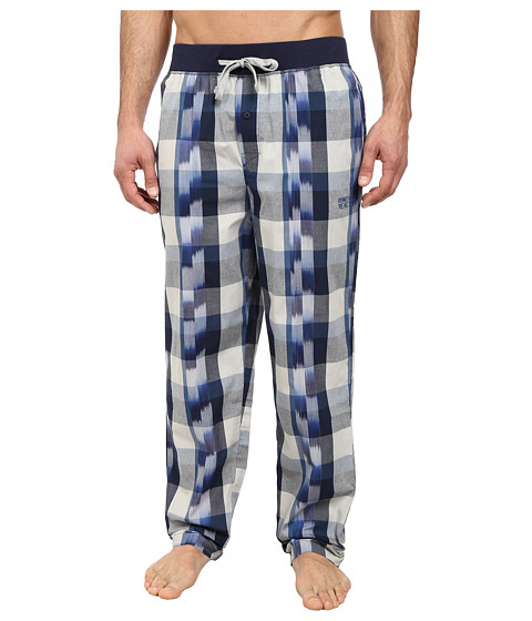 Kenneth Cole Reaction - Woven Pants (Dress Blue Paint) Men's Pajama
