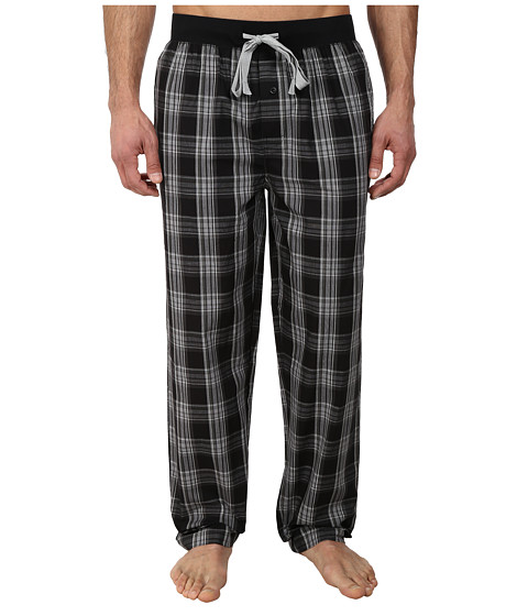 Kenneth Cole Reaction - Lounge Pants (Black Dusk Plaid) Men's Pajama