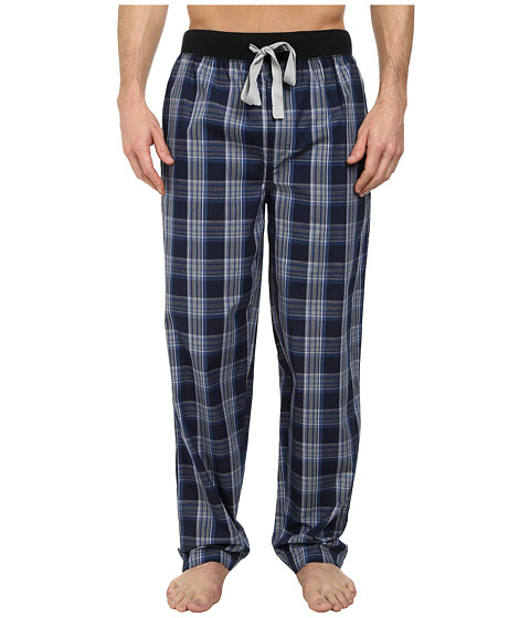 Kenneth Cole Reaction - Lounge Pants (Navy Dusk Plaid) Men's Pajama