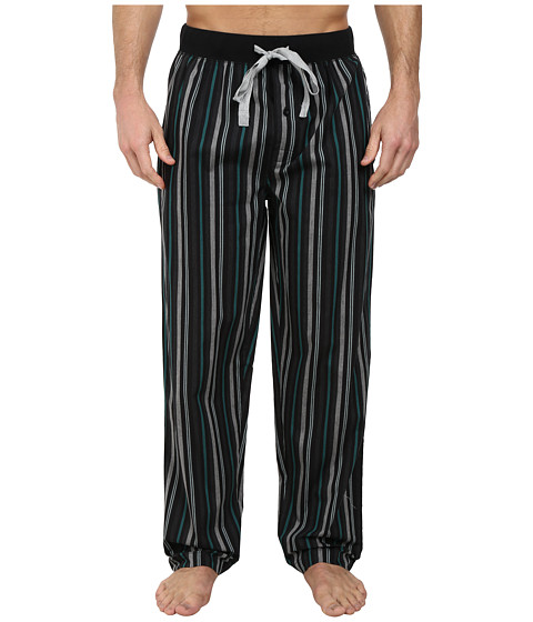 Kenneth Cole Reaction - Lounge Pants (Evergreen Stripe) Men's Pajama
