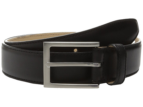 Massimo Matteo - Leather Belt (Black) Men