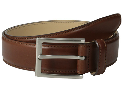 Massimo Matteo - Leather Belt (Brandy) Men