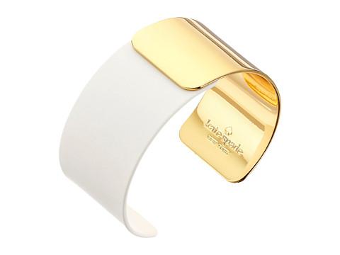 Kate Spade New York - Dive In Cuff Bracelet (White) Bracelet
