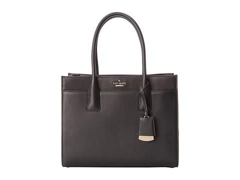 Kate Spade New York - Lucca Drive Candace (Black) Handbags