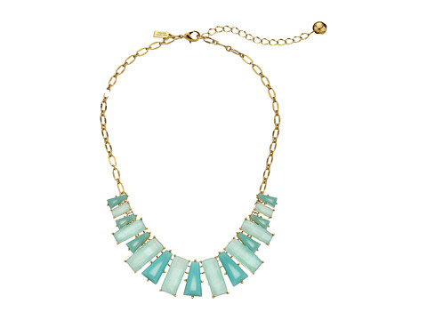 Kate Spade New York - Beach Gem Necklace (Aqua Multi) Necklace