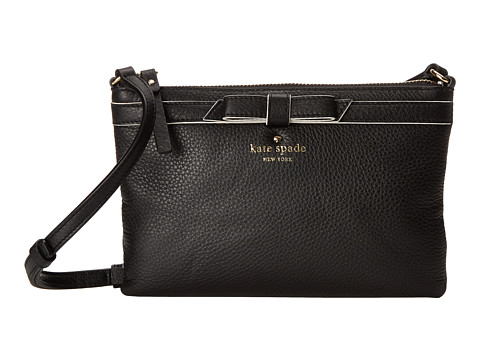 Kate Spade New York - Cobble Hill Bow Tarin (Black) Wallet