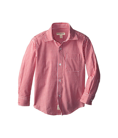Appaman Kids - Standard Shirt (Toddler/Little Kids/Big Kids) (Red Check) Boy
