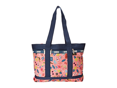 LeSportsac Luggage - Medium Travel Tote (Tropical Voyage) Tote Handbags