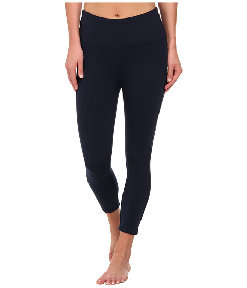 Spanx - Ready to Wow! Capri Structured Leggings (Navy Haze) Women's Casual Pants