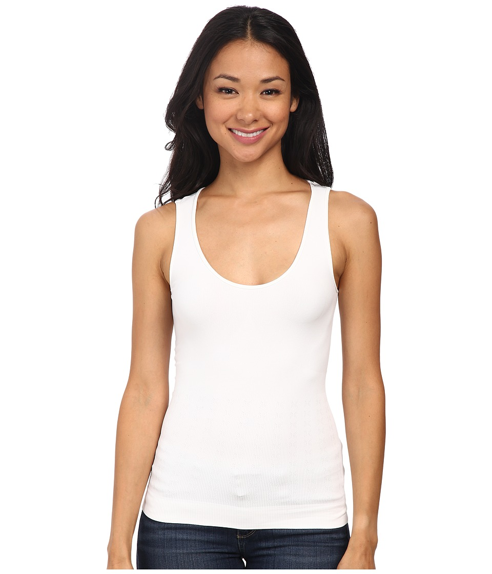 NYDJ - Fit Solution Compression Tank Top (Optic White) Women