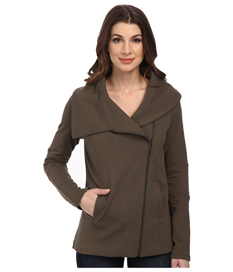 NYDJ - City/Sport Cozy Moto Jacket (Army) Women's Coat