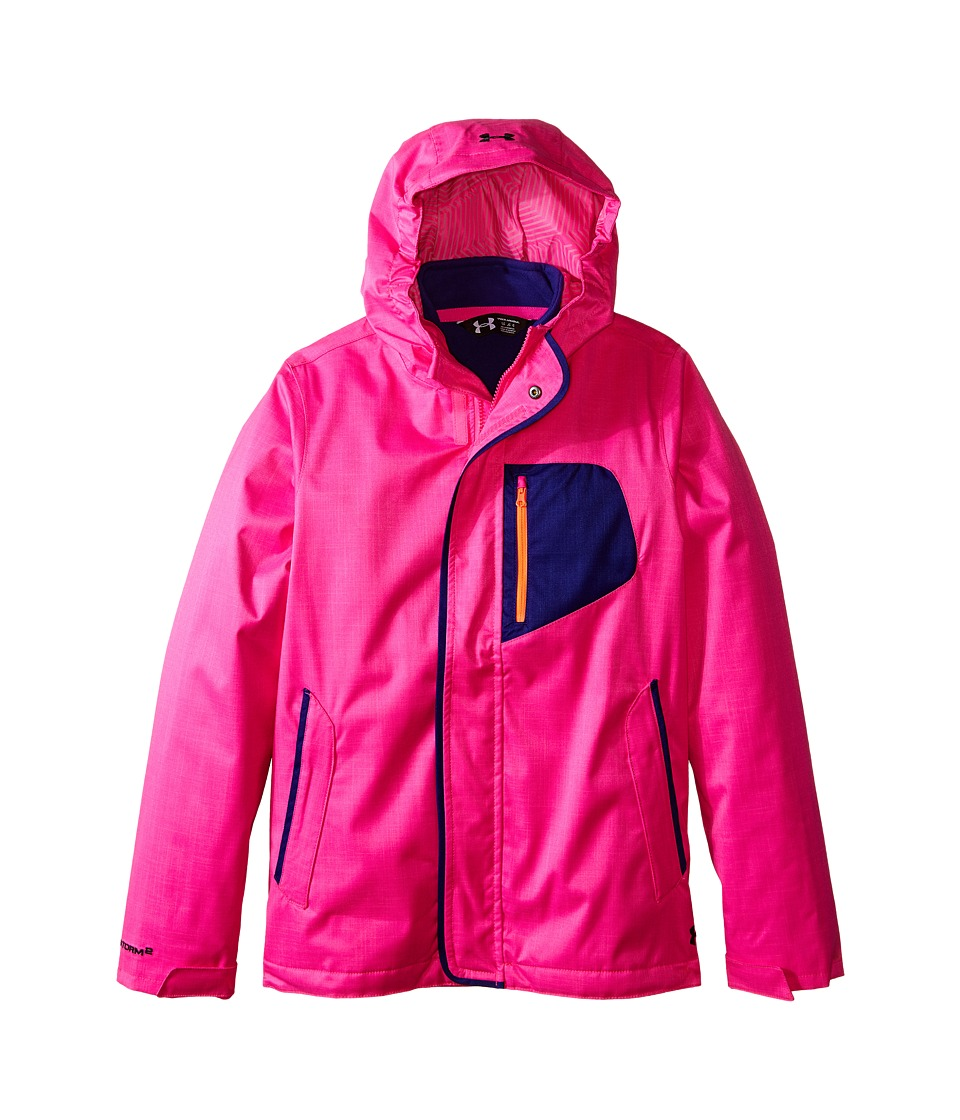 Under Armour Kids - Coldgear(r) Infrared Gemma 3-In-1 Jacket (Big Kids) (Rebel Pink) Girl's Coat