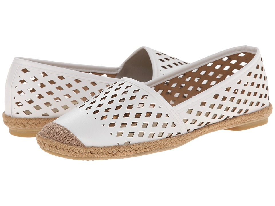Wanted - Cadiz (White) Women's Slip on Shoes