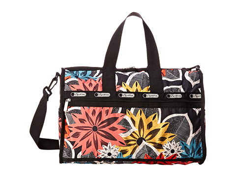LeSportsac Luggage - Medium Weekender (Caraway Floral) Handbags
