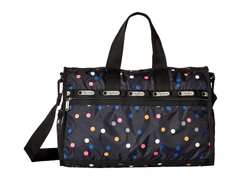 LeSportsac Luggage - Medium Weekender (Litho Dot) Duffel Bags