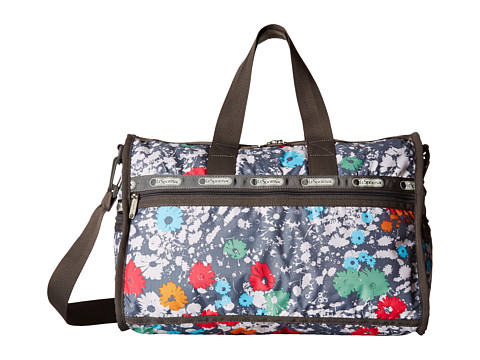 LeSportsac Luggage - Medium Weekender (Chroma Flower) Handbags