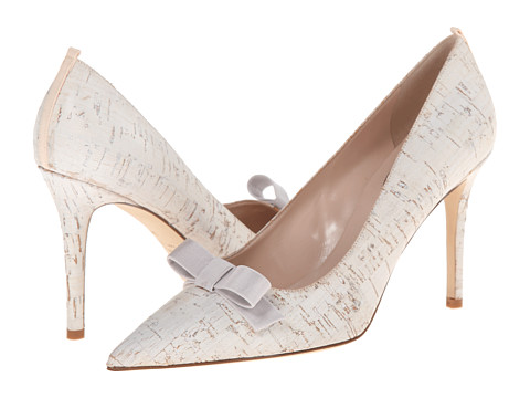 SJP by Sarah Jessica Parker - Sister (White Textile) Women's Shoes