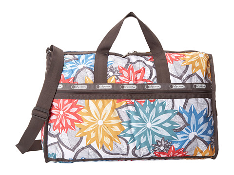 LeSportsac Luggage - Large Weekender (Caraway Floral Light) Duffel Bags