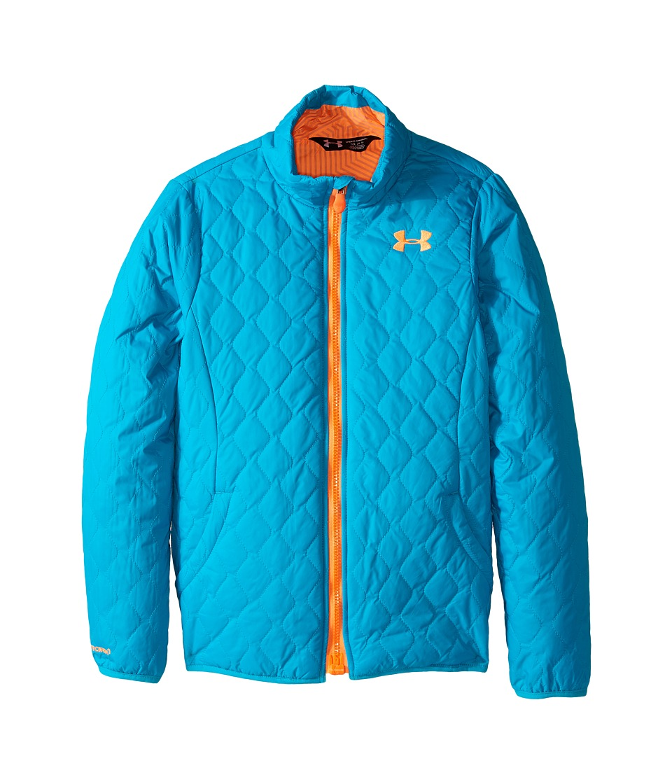 Under Armour Kids - UA Micro Jacket (Big Kids) (Pacific) Girl's Coat