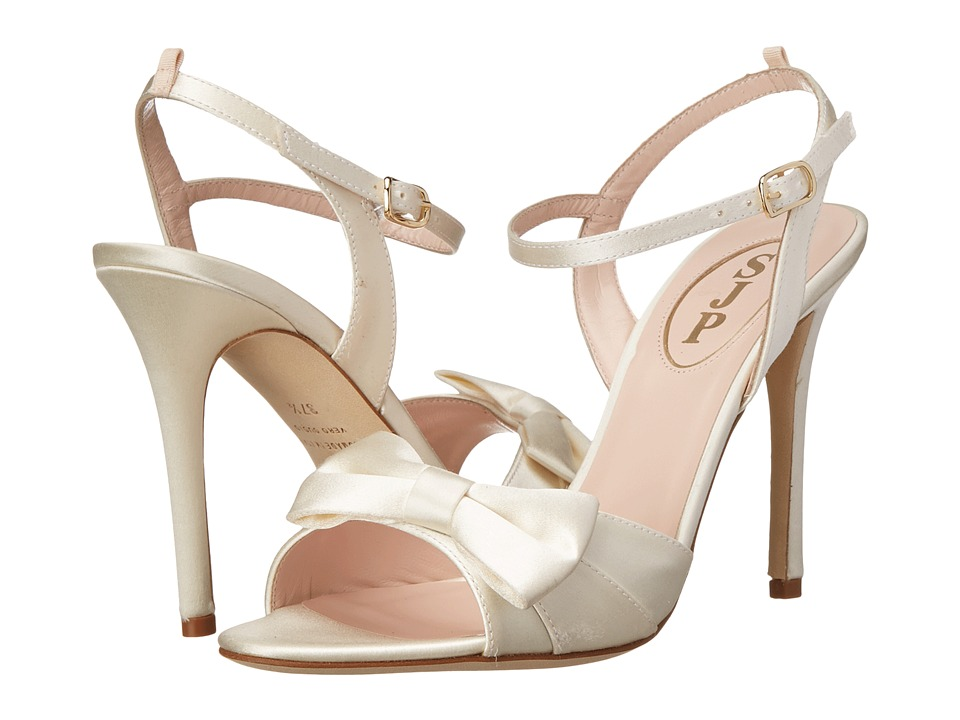 SJP by Sarah Jessica Parker - Louise (Ivory Satin) Women's Shoes