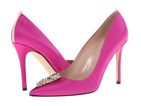 SJP by Sarah Jessica Parker - Tempest (Pink Satin) Women's Shoes