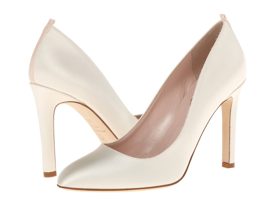 SJP by Sarah Jessica Parker - Lady (Ivory Satin) Women's Shoes