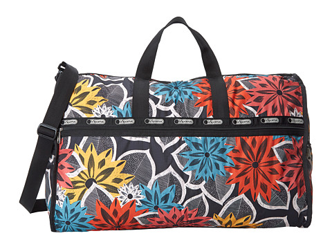 LeSportsac Luggage - Extra Large Weekender (Caraway Floral) Weekender/Overnight Luggage