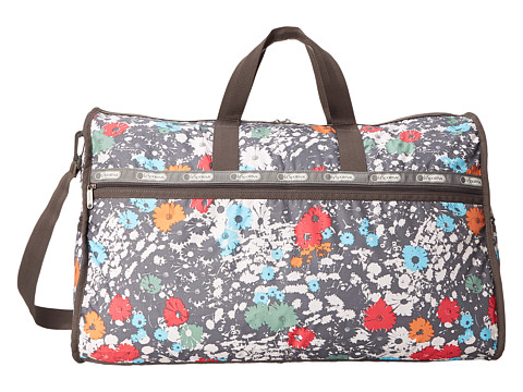 LeSportsac Luggage - Extra Large Weekender (Chroma Flower) Weekender/Overnight Luggage