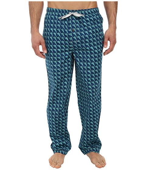 Tommy Bahama - Island Washed Cotton Lounge Pants (Dark Sea) Men