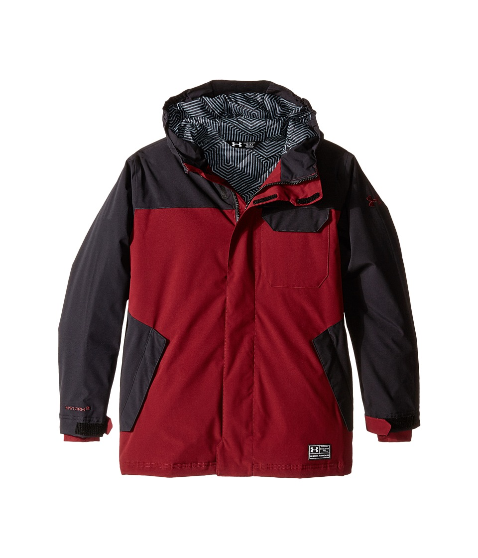 Under Armour Kids - UA Coldgear(r) Infrared Hacker Jacket (Big Kids) (Deep Red) Boy's Coat