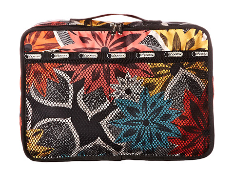 LeSportsac Luggage - Small Packing Pouch (Caraway Floral) Travel Pouch