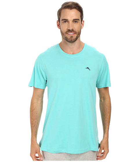 Tommy Bahama - Solid Cotton Modal Jersey Short Sleeve Tee (Kohala Teal) Men's T Shirt