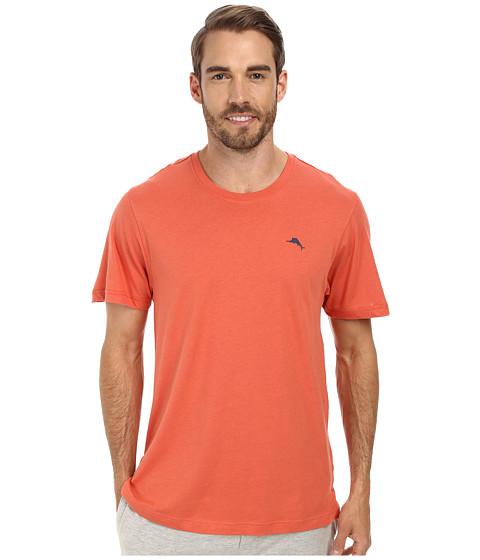 Tommy Bahama - Solid Cotton Modal Jersey Short Sleeve Tee (Hazard) Men