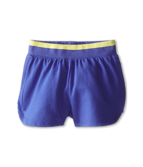 Splendid Littles - Active French Terry Shorts (Big Kids) (Royal) Girl