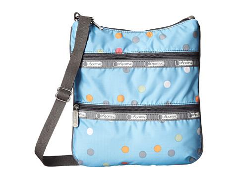 LeSportsac - Kylie (Litho Dot Blue) Handbags