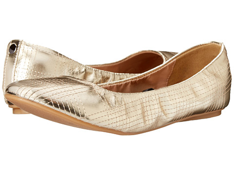 Wanted - Arion (Gold) Women's Flat Shoes