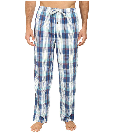 Tommy Bahama - Seeersucker Woven Plaid Lounge Pants (Multi) Men