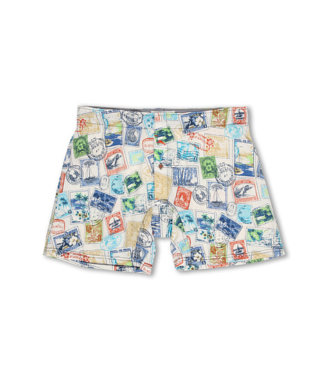 Tommy Bahama - Printed Cotton Modal Jersey Lounge Shorts (Cocobut Cream) Men's Pajama