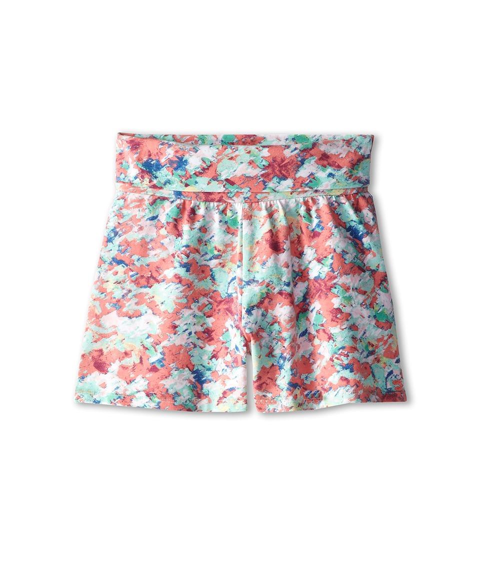 Splendid Littles - Abstract Floral Shorts (Big Kids) (Print) Girl's Shorts