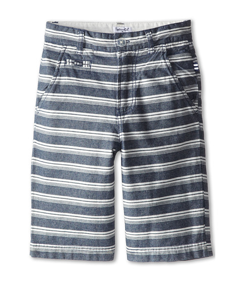Splendid Littles - Woven Stripe Shorts (Big Kids) (Stripe) Boy's Shorts