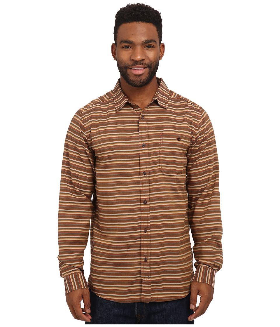 Mountain Hardwear - El Cerritotm Long Sleeve Shirt (Brownstone) Men's Long Sleeve Button Up