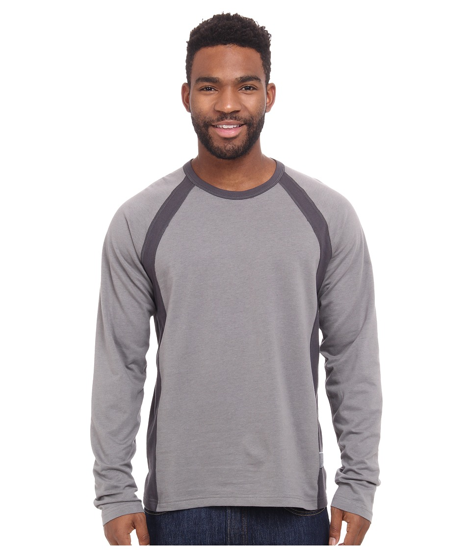 Mountain Hardwear - Cragger Crew Long Sleeve Shirt (Titanium) Men