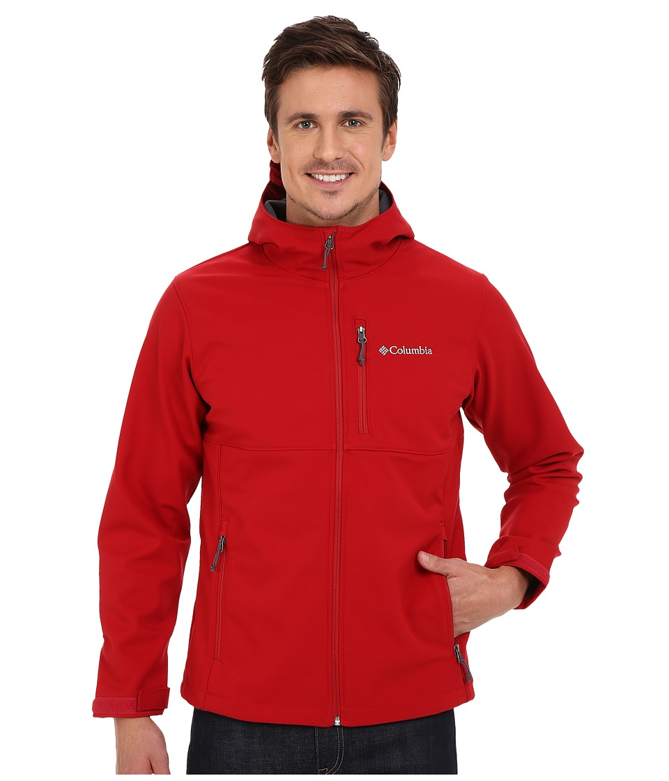 Columbia - Ascender Hooded Softshell Jacket (Rocket) Men