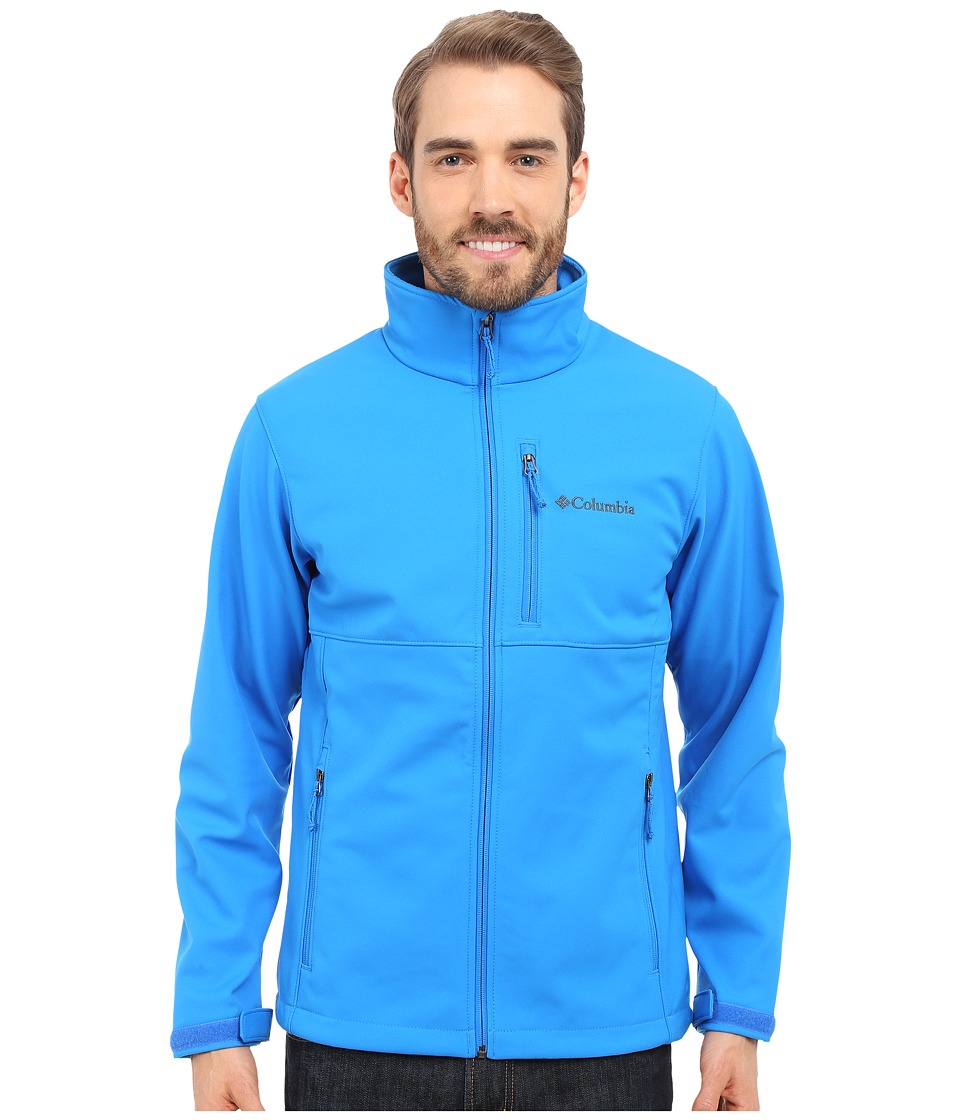 Columbia - Ascender Softshell Jacket (Hyper Blue) Men's Coat