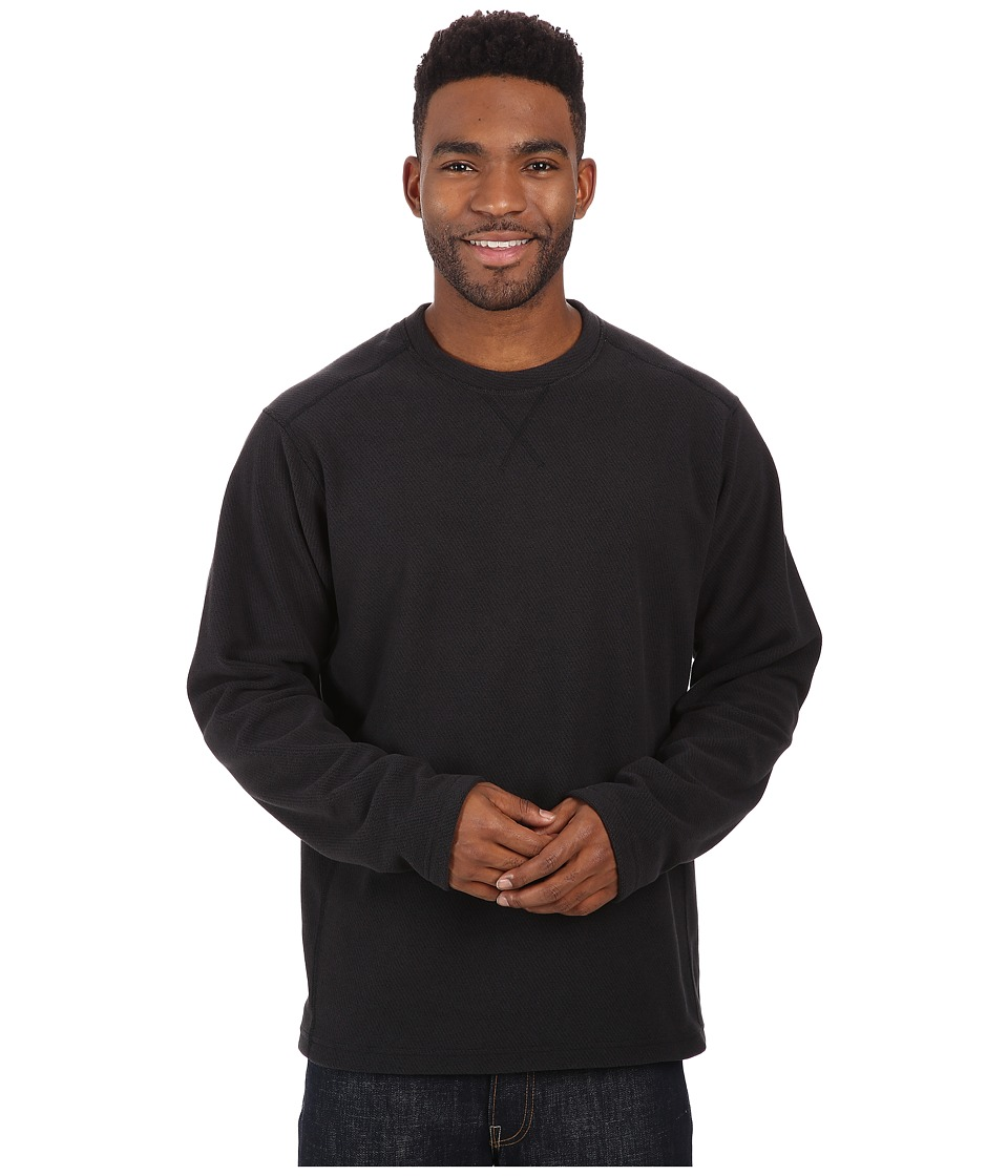 Mountain Hardwear - Toasty Twill Crew (Black) Men